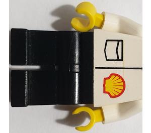 LEGO Shell Worker Minifigure