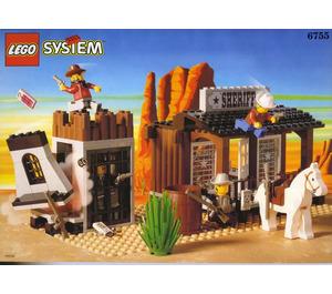 LEGO Sheriff's Lock-Up Set 6755