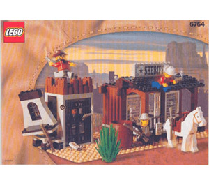 LEGO Sheriff's Lock-Up Set 6764 Instructions