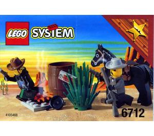 LEGO Sheriff's Showdown Set 6712
