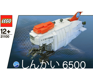 LEGO Shinkai 6500 Submarine Set 21100 Instructions