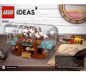 LEGO Ship in a Bottle Set 21313 Instructions