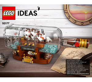 LEGO Ship in a Bottle Set 92177 Instructions