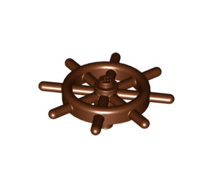LEGO Ship Wheel with Unslotted Pin (4790 / 52395)