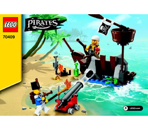 LEGO Shipwreck Defence Set 70409 Instructions