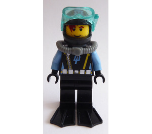 LEGO Shipwreck Diver Minifigure