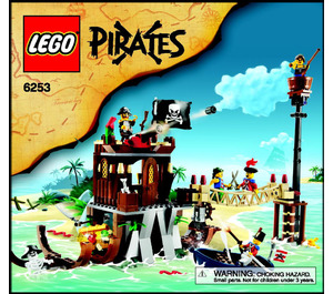 LEGO Shipwreck Hideout Set 6253 Instructions