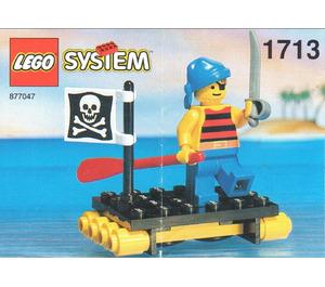 LEGO Shipwrecked Pirate Set 1713-1