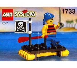 LEGO Shipwrecked Pirate Set 1733-1