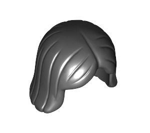 LEGO Shoulder Length Hair with Center Parting (4530 / 96859)
