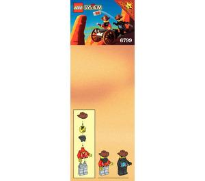 LEGO Showdown Canyon Set 6799 Instructions