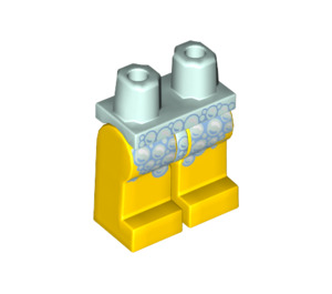 LEGO Shower Guy Minifigure Hips and Legs (3815 / 61778)