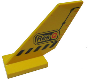 LEGO Shuttle Tail 2 x 6 x 4 with Decoration (6239)