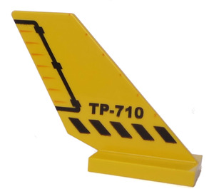LEGO Shuttle Tail 2 x 6 x 4 with 'TP-710' (6239)