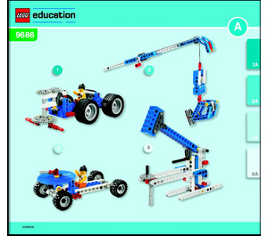 LEGO Simple & Powered Machines Set 9686 Instructions