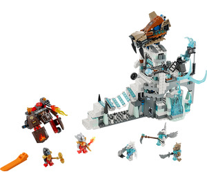 LEGO Sir Fangar's Ice Fortress Set 70147