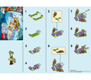 LEGO Sira's Adventurous Airglider Set 30375 Instructions