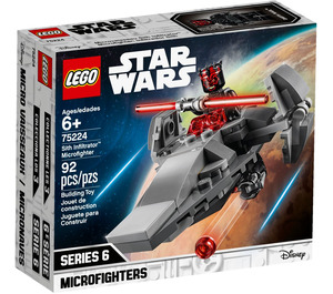 LEGO Sith Infiltrator Microfighter Set 75224 Packaging