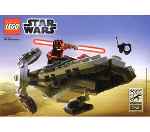 LEGO Sith Infiltrator (SDCC 2012 exclusive) Set COMCON019