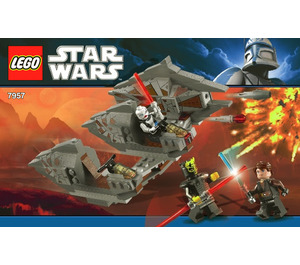 LEGO Sith Nightspeeder Set 7957 Instructions