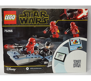 LEGO Sith Troopers Battle Pack Set 75266 Instructions