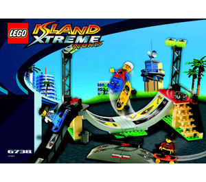 LEGO Skateboard Challenge Set 6738 Instructions