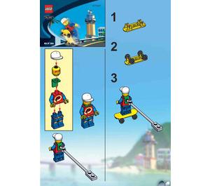 LEGO Skateboarding Pepper Set 6731 Instructions