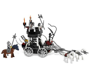 LEGO Skeletons' Prison Carriage Set 7092