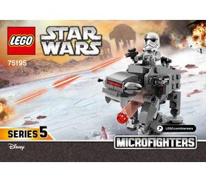 LEGO Ski Speeder vs. First Order Walker Microfighters Set 75195 Instructions
