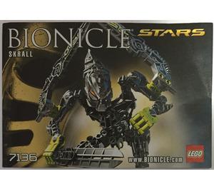 LEGO Skrall Set 7136 Instructions