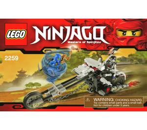 LEGO Skull Motorbike Set 2259 Instructions