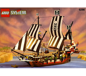LEGO Skull's Eye Schooner Set 6286