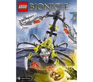 LEGO Skull Scorpio Set 70794 Instructions
