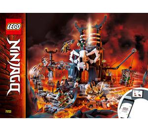 LEGO Skull Sorcerer's Dungeons Set 71722 Instructions