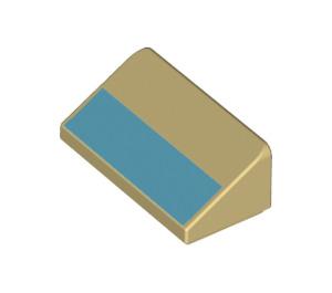 LEGO Slope 1 x 2 (31°) with Decoration (73796 / 85984)