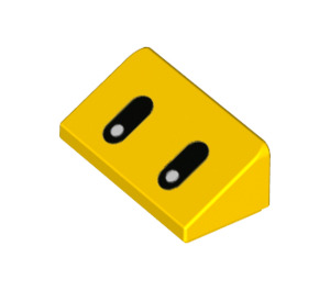LEGO Slope 1 x 2 (31°) with Decoration (76903 / 85984)