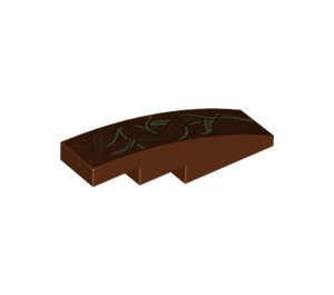 LEGO Slope 1 x 4 Curved with Decoration (11153 / 18388)