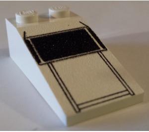 LEGO Slope 18° 4 x 2 with Decoration (30363)