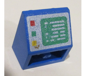 LEGO Slope 2 x 2 (45°) Inverted with Computer Screen Buttons on Left (3660)