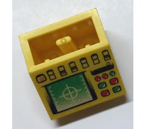 LEGO Slope 2 x 2 (45°) Inverted with Radar (3660)