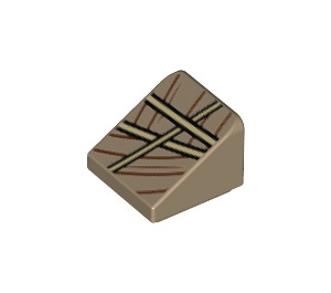 LEGO Slope 31° 1 x 1 with Decoration (52649)