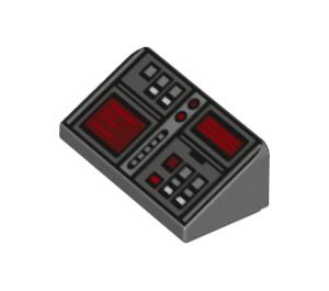 LEGO Slope 31° 1 x 2 with Decoration (26823 / 85984)