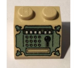 LEGO Slope 45° 2 x 2 with antique cash register (3039)