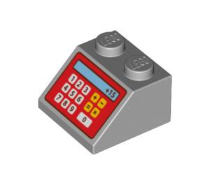 LEGO Slope 45° 2 x 2 with Cash Register Decoration (3039 / 95669)