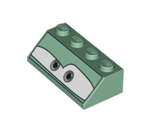 LEGO Slope 45° 2 x 4 with Decoration with Rough Surface (3037 / 96164)