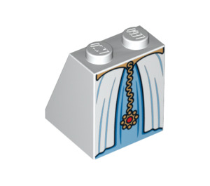 LEGO Slope 65° 2 x 2 x 2 with Centre Tube with Belted Gown with Gold Chain (84674)