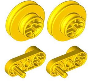 LEGO Small Pulleys&handles For Esm Set 9839