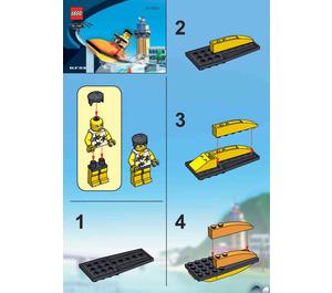 LEGO Snap's Cruiser Set 6733 Instructions