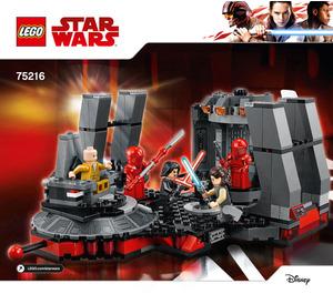 LEGO Snoke's Throne Room Set 75216 Instructions