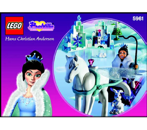 LEGO Snow Queen Set 5961 Instructions